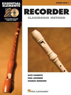 New Essential Elements for Recorder - Book & CD