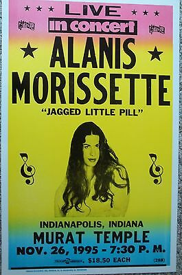 Alanis Morisette in concert in Indiana Poster Print