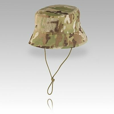 TAS Short Brim SF Jungle Boonie Bush Hat - Genuine Multicam NYCO Rip Stop