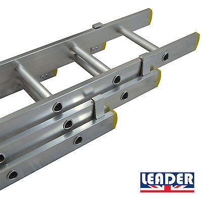 Aluminium Trade Double & Triple Section Extension Ladders UK Manufactured