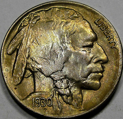 1930 Buffalo Nickel Gem BU MS++... Super Flashy with Very Nice Toning, So NICE!!