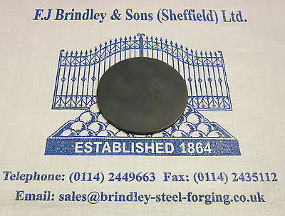 2 x Mild Steel Profiled Cut Discs 50mm diameter x 3mm thick Pack of 2