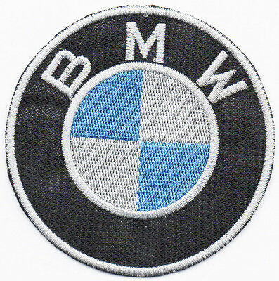 Ecusson patch thermocollant brodée FABRIQUE EN FRANCE   BMW