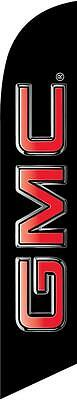 GMC 12ft Feather Banner Swooper Flag - FLAG ONLY