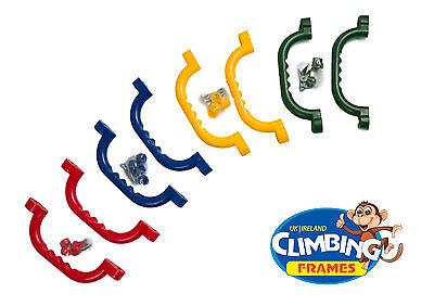 Set of 2x GRAB HANDLES Hand Grips Climbing frame tree house Jungle Gym SOLD 2500