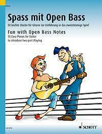 Fun with Open Bass Notes 50 easy Pieces for Guitar Kreidler
