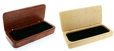 Delux Pen Box in Rosewood or Maplewood 325