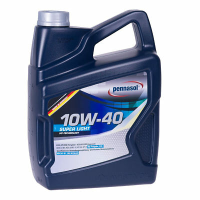 Pennasol 10W-40 SUPER LIGHT 5 Liter synthetisch 5L 10W40 Motoröl