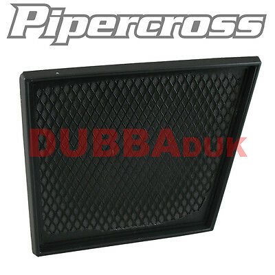 Pipercross Panel Air Filter Ford Fiesta Mk7 2008- 1.25 1.4 1.6 16V Tdci 90 K&n