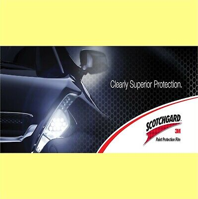 3M Clear Paint Protection Film - 300mm x 1.000m long
