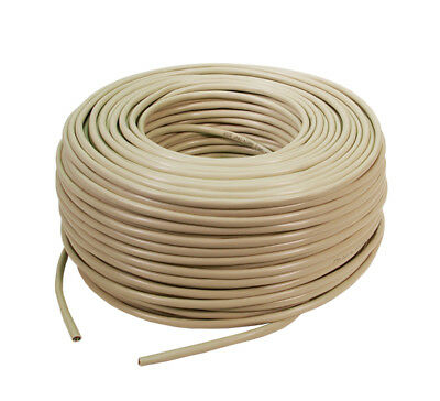 LogiLink CPV0035 100m CAT 6 Patch Kabel U/UTP Twisted Pair Verlegekabel LAN DSL