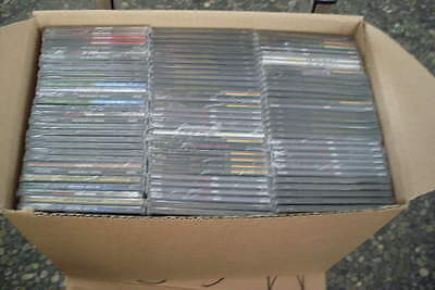 100 Maxi-CD Hüllen (inkl CD & Cover) foliert    CD cases  7mm