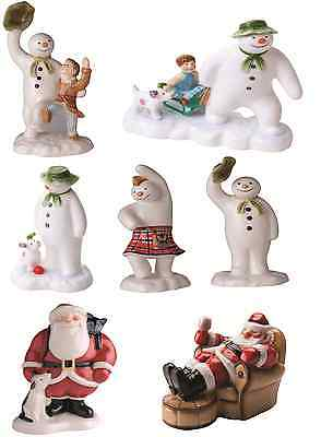Beswick The Snowman Father Christmas Ceramic Figurine Figure Ornament Collection