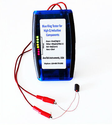AnaTek Blue Ring High-Q Component Tester - Fully Assembled