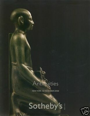 Sotheby's Catalogue Antiquities 10/12/2008  HB • CAD $15.75