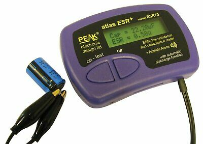 "Peak Altas ESR70 ESR Meter with ""Audible Alerts"""