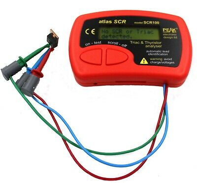 Atlas SCR100 Thyristor and Triac Tester ( SCR100 )