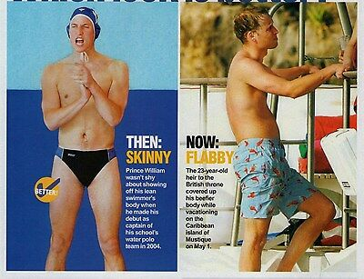PRINCE WILLIAM  --  2006 Magazine Picture Clipping  vg