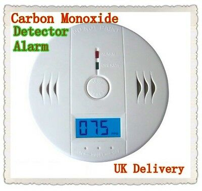 HOT SELL CO Carbon Monoxide Poisoning Gas Sensor Alarm Detector UK stock JKD602
