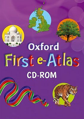 Oxford First e-Atlas CD-ROM; Wiegand, Patrick, Geography - 9780198300052