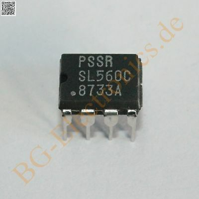 1 x SL560C 300MHz Low Noise Amplifier SL560 Plessey DIP-8 1pcs