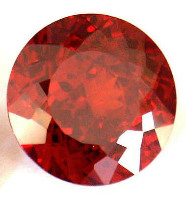 A pair of 5 mm Fancy Double Round Brilliant Cut Lab Created Ruby