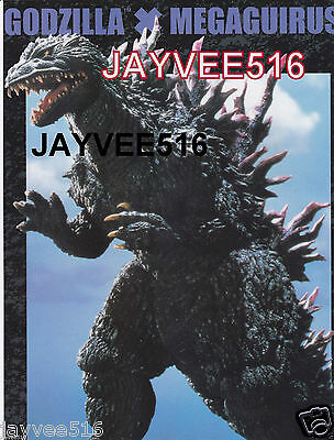 "Godzilla X / Vs Megaguirus Rare 8.5"" X 11"" Transparent Image Orig Still Photo Sf"