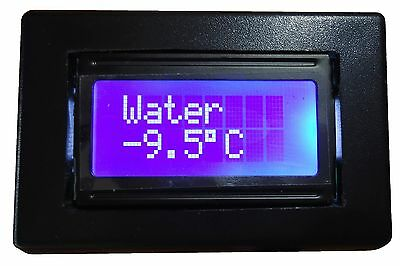 Temperature Gauge for Liquids and Gases (Car, Refrigerator Truck, House, etc)
