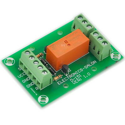 Bistable/Latching DPDT 8A Power Relay Module, DC24V Coil.