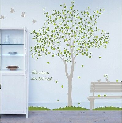 Birds Tree Removable Wall Art Stickers Home Nursery Vinyl Decals Decor DIY