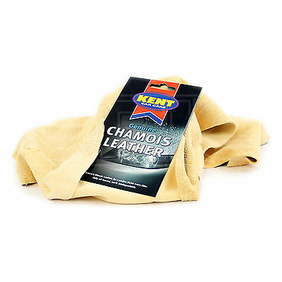 Kent Car Care - Genuine Chamois Leather - 3 Square Foot