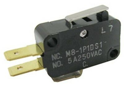 Microswitch - SPDT, NO/NC by Mulon® (#M8) Rated 5A @ 250VAC/10A @ 125VAC