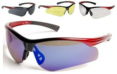 Solar Sports Style Safety Glasses - Eye Protection EN166 - Various Colours