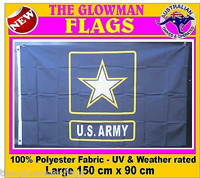 ARMY STAR flag USA American America includes AUSTRALIA POST TRACKING