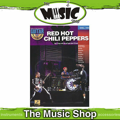 New Red Hot Chili Peppers Guitar Play Along Book & CD - Volume 153