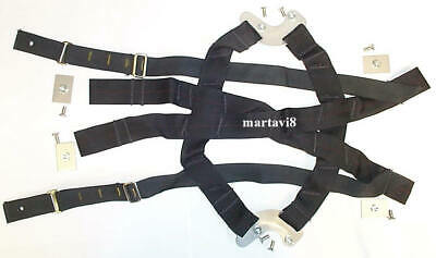 New Cradle Harness to fit Royal Air Force MK.4A Flight / Flying Helmets S (544)