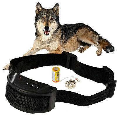Electric Shock Anti-Bark Collar Pet No Bark Obedience Training E-collar for Dog