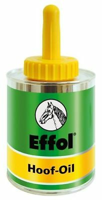 Effol Hoof Oil Tin with Brush - 475ml Horse/Pony Care