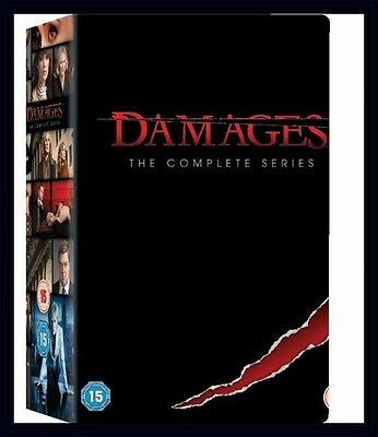 Damages - The Complete Series - Seasons 1 2 3 4 & 5 *brand New Dvd Boxset*