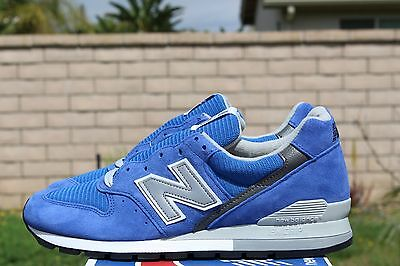 buy popular 38abf 50299 NEW BALANCE 996 Sz 10.5 Royal Blue Grey M996Ryl Nb Encap Made In The Usa