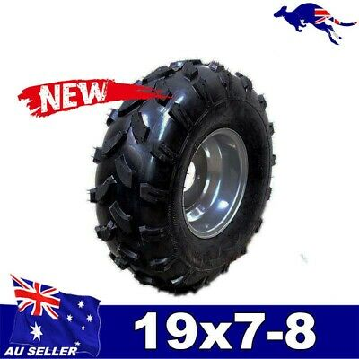 "19x7-8"" inch Front Wheel(tubeless knobby tyre+rim) ATV Quad Buggy Ride on Mower"
