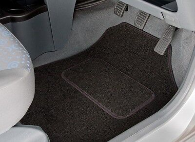 Nissan Navara (2001 - 2006) Tailored Car Mats With Black Trim (1202)