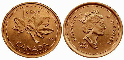 Canada 2002 1 Cent Uncirculated (KM445)