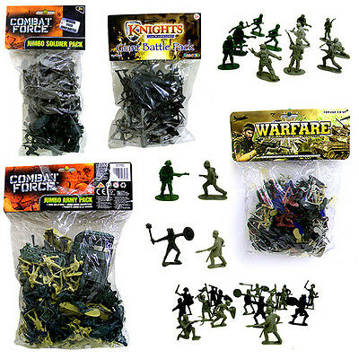TOY SOLDIERS  Assorted Sets & Styles of Plastic Toy Soldier Figures Combat Force