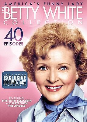 The Betty White Collection: America's Funny Lady (DVD, 2011, 4-Disc Set)