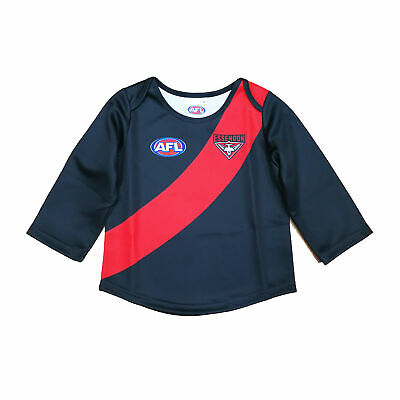 Official AFL Essendon Bombers Baby Toddler Footy Football Jumper Guernsey