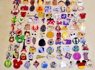 DISNEY PIN LOT of 100 or purchase 200-300-400-500 Fastest USA shipper
