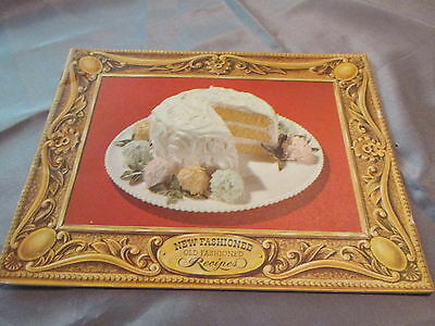 Antique  New Fashioned Old Fashioned Recipes Arm/hammer Booklet 1949