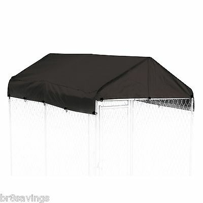 Lucky Weatherguard Cover 5 x 10 LARGE CHAIN DOG KENNEL COVER-FRAME PEN OUTDOOR