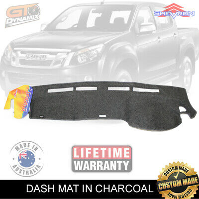 DASH MAT ISUZU D-MAX TF MODEL + Centre Lid 06/2012-2017 DM1282 DMAX CHARCOAL